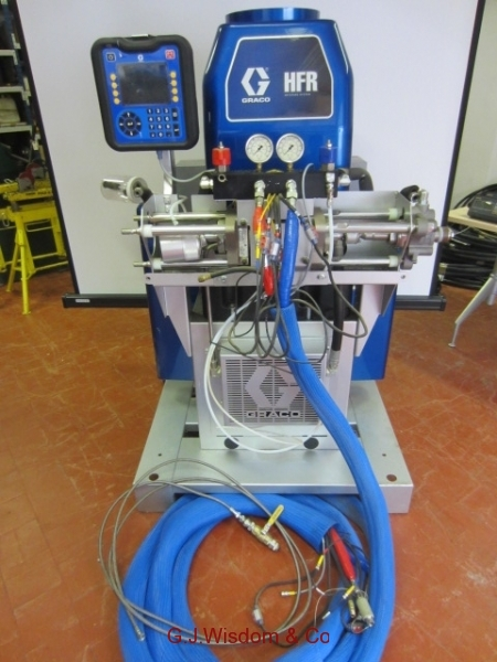 Graco Floor Spraying Machine