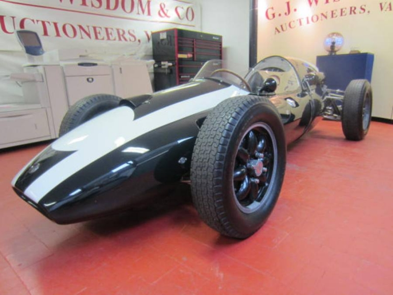 On-Line Auction of Cooper Climax T43 - G J Wisdom Commercial Auctioneers (Bexley, London)