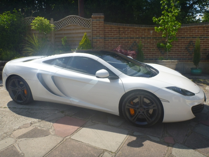 One Lot Auction of McLaren MP4 - G J Wisdom Commercial Auctioneers (Bexley, London)