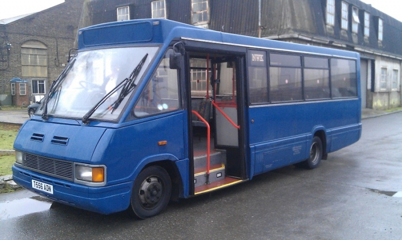 Removal & Sale of a Coach Operator - G J Wisdom Commercial Auctioneers (Bexley, London)