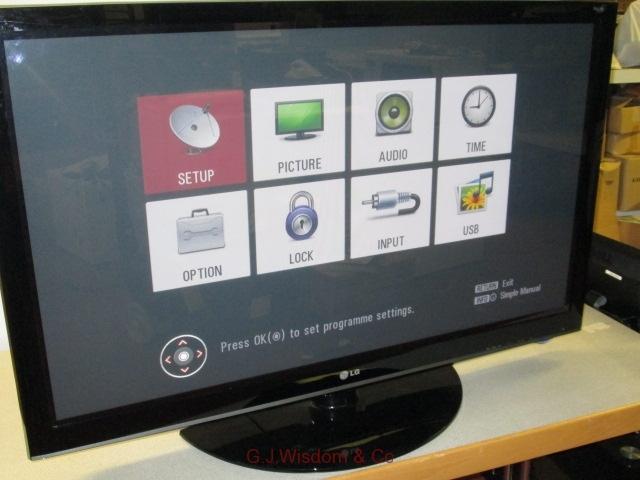 "LG 50"" TV"
