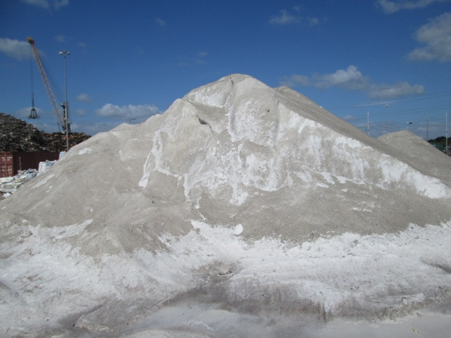Approx 5000 Tons White Road Salt