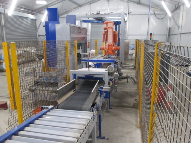 Conveyor & Flattener 1