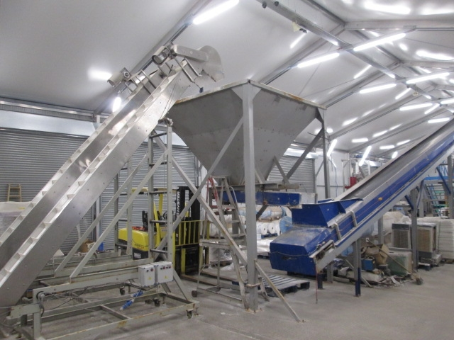 Feeder Hopper for Packaging line & Conveyors