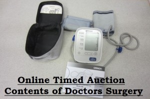 Website - Sale 1127 - Medical Equipment